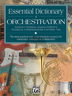 Black-Gerou Essential Dictionary of Orchestration