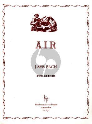 Bach Air for Guitar