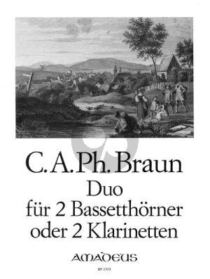 Beyer Duo 2 Bassetthorner oder Klarinetten (Siegfried Beyer)
