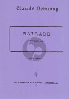 Debussy Ballade (Hengeveld)