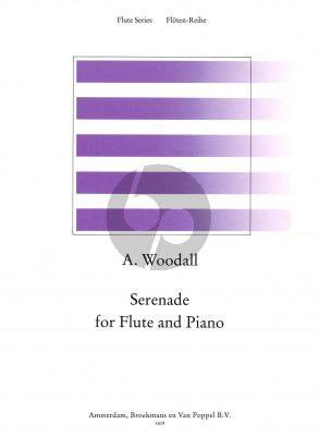 Woodall Serenade Flute-Piano (edited by Rien de Reede)