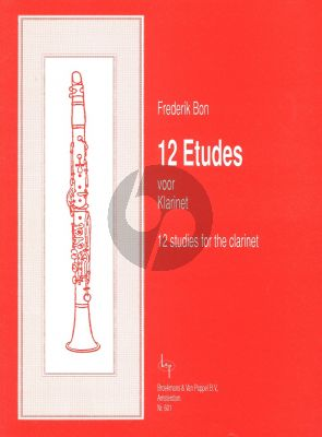 Bon 12 Studies for Clarinet