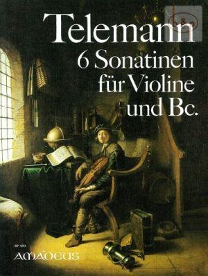 6 Sonatinen Violin-Bc