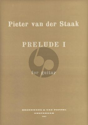 Staak Prelude No.1 for Guitar
