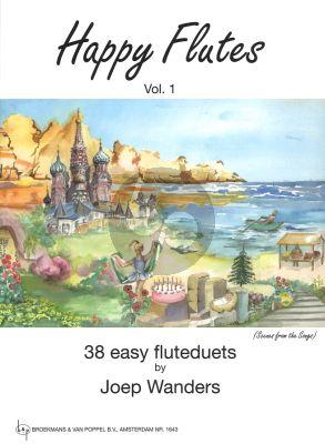 Wanders Happy Flutes Vol.1 (38 Easy Duets Grade 1)