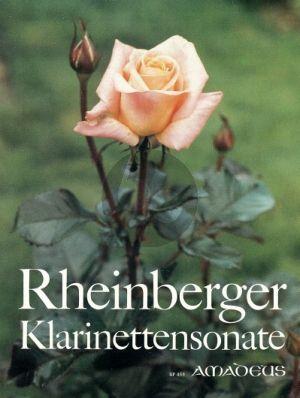 Sonate Opus 105A Klarinette und Klavier
