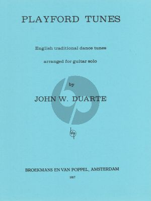 Duarte Playford Tunes for Guitar Solo