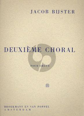 Bijster Deuxieme Choral Orgel
