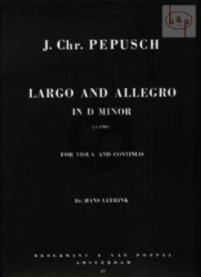 Largo et Allegro d-minor