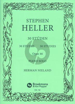 Heller 30 Studies Op.46 Piano (H. Nieland)