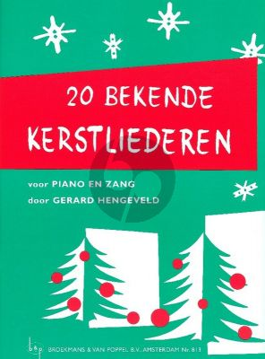 Hengeveld 20 Bekende Kerstliederen (20 Well-Known Christmas Songs) (Dutch Texts)