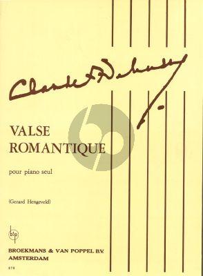 Debussy Valse Romantique Piano solo (Hengeveld)