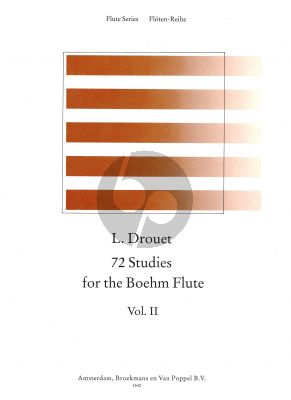 72 Studies for the Boehm Flute Vol.2