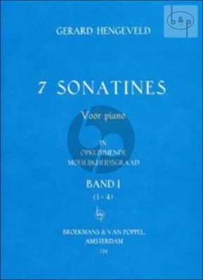 7 Sonatinas Vol.1 (No.1 - 4)