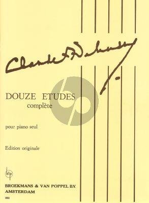 Debussy Etudes (Complete Original Edition)