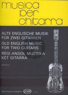 Old English Music for 2 Guitars (Miklós Mosóczi)