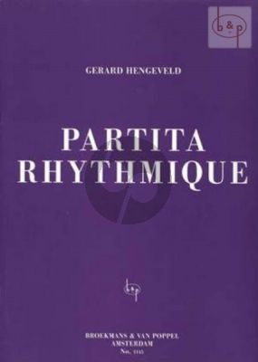 Partita Rhythmique Piano solo