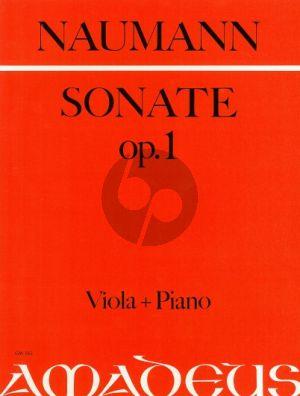 Naumann Sonate g-moll Op.1 Viola und Klavier