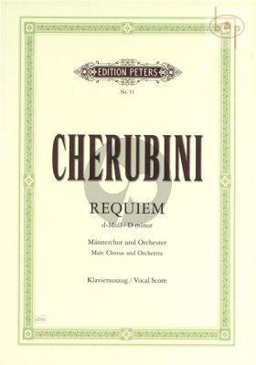 Requiem d-minor (1836) (Male Choir-Orch.)