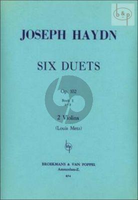 6 Duets Op.102 Vol.1 No. 1 - 3 2 Violins