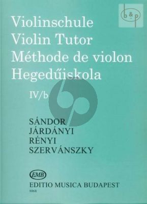 Violin Method Vol.4B