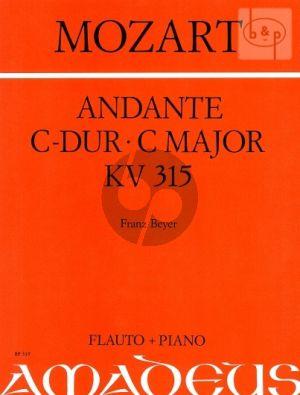 Andante C-dur KV 315 Flöte-Klavier