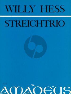 Hess Trio Op.76 Violin-Viola-Violoncello (Parts)