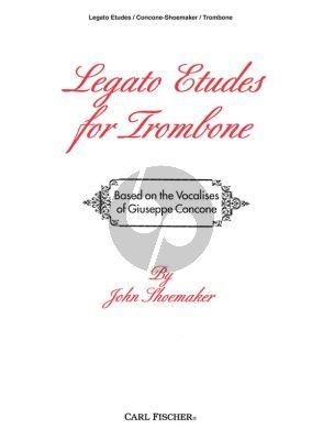 Shoemaker Legato Studies Trombone (after Concone)