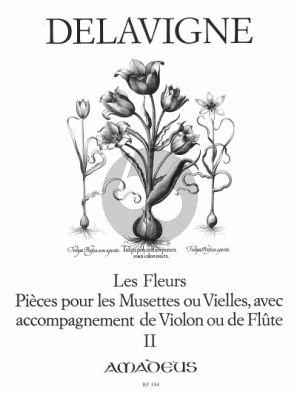Delavigne Les Fleurs Op. 4 Vol. 2 2 Blockflöten (Querflöten, Oboen oder Violinen) (Winfried Michel)