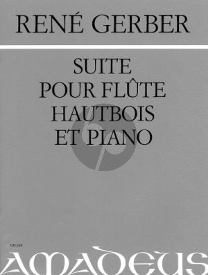 Gerber Suite Flute-Hautbois et Piano (Part./Parties)