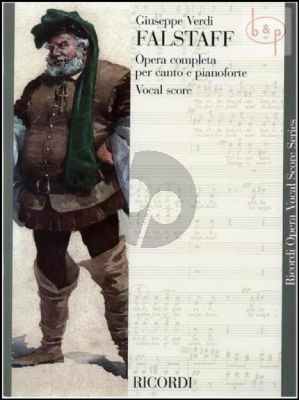 Verdi Falstaff Vocal Score (ital./engl.)