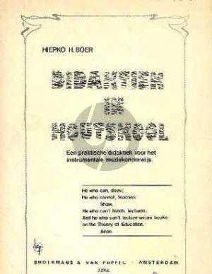Boer Didaktiek in Houtskool (Een praktische didaktiek voor het instrumentale muziekonderwijs)