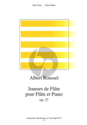 Roussel Joueurs de Flute Op.27 Flute-Piano (Roorda)