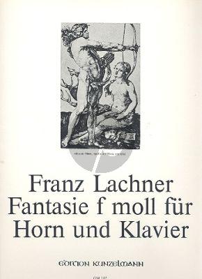Lachner Fantasie (1825) f-moll Horn-Klavier (Kurt Janetzky)