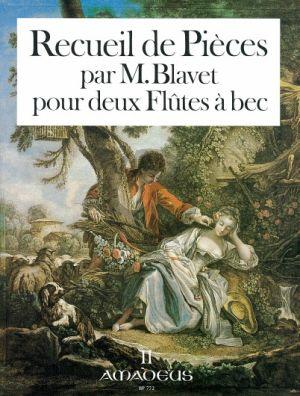 Blavet Recueil de Pieces Vol. 2 2 Altblockflöten (Petits Airs-Brunettes- Menuets avec des Doubles et Variations) (Winfried Michel mit Yvonne Morgan)