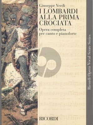 Verdi I Lombardi alla Prima Crociata Vocal Score (it.)