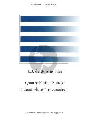 4 Petites Suites 2 Flutes (edited by Mirjam Nastasi)
