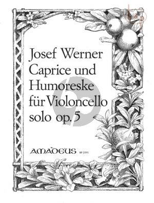 Caprice & Humoreske Op.5 Violoncello solo