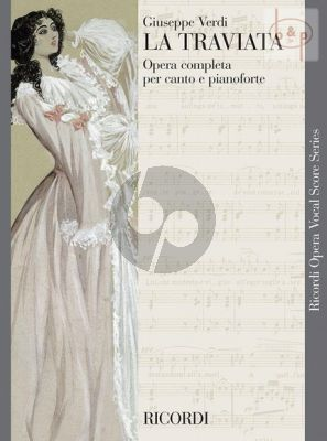 Verdi La Traviata Vocal Score (it.)
