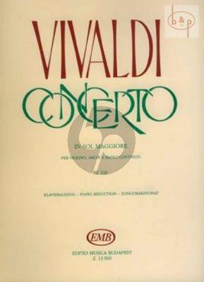 Concerto G-major RV 310 Op.3 No.3 Violin-Piano