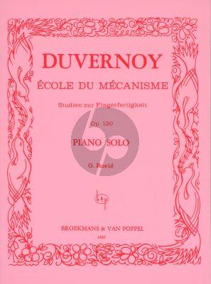 Duvernoy Ecole du Mecanisme Op.120 Piano (G. Roelé) (Broekmans)