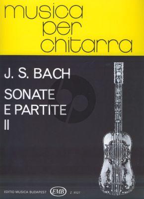 Bach 6 Sonatas & Partitas Vol.2 BWV 1004-1006 arr. for Guitar by Mosóczi Miklós