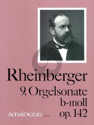 Rheinberger Sonate No. 9 h-moll Opus 142 Orgel (Bernhard Billeter)