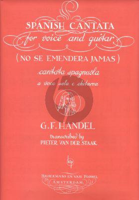 "Handel Spanish Cantate ""No se emendera jamas"" Voice-Guitar (Pieter van der Staak)"