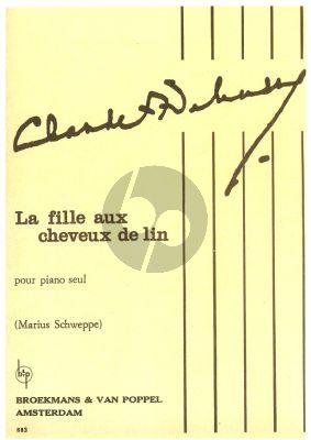 Debussy La Fille aux Cheveux de Lin (Schweppe)