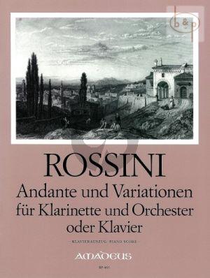 Andante & Variationen (Clarinet-Orch.)