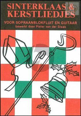 Staak Sint Nicolaas-en Kerstliederen gitaar