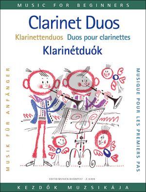 Clarinet Duos for Beginners (edited by István Máriássy and Dezső Puskás)