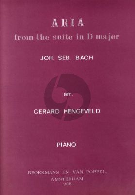 Bach J.S. Air on G-string from Suite D-major