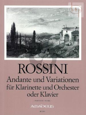 Andante & Variationen (Clar.-Orch.)